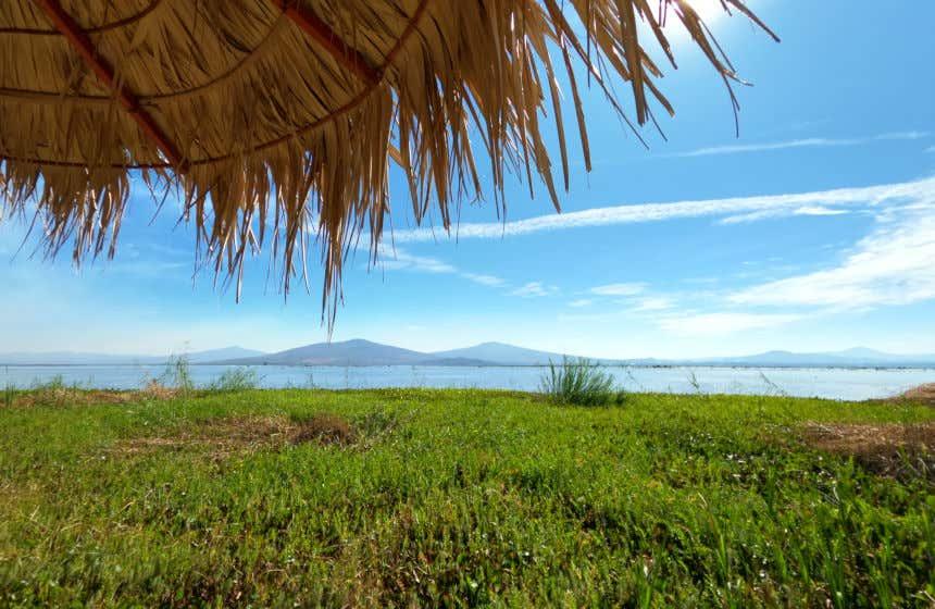 Paraje de Yuriria, uno de los sitios Ramsar de México debido al valor de sus humedales.