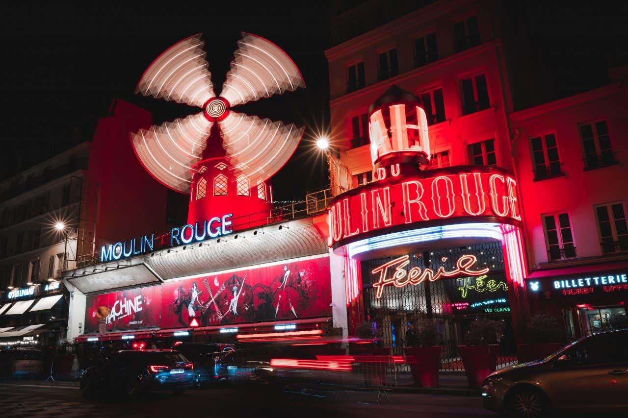 Le Moulin Rouge, un des clubs incontournables de la capitale.