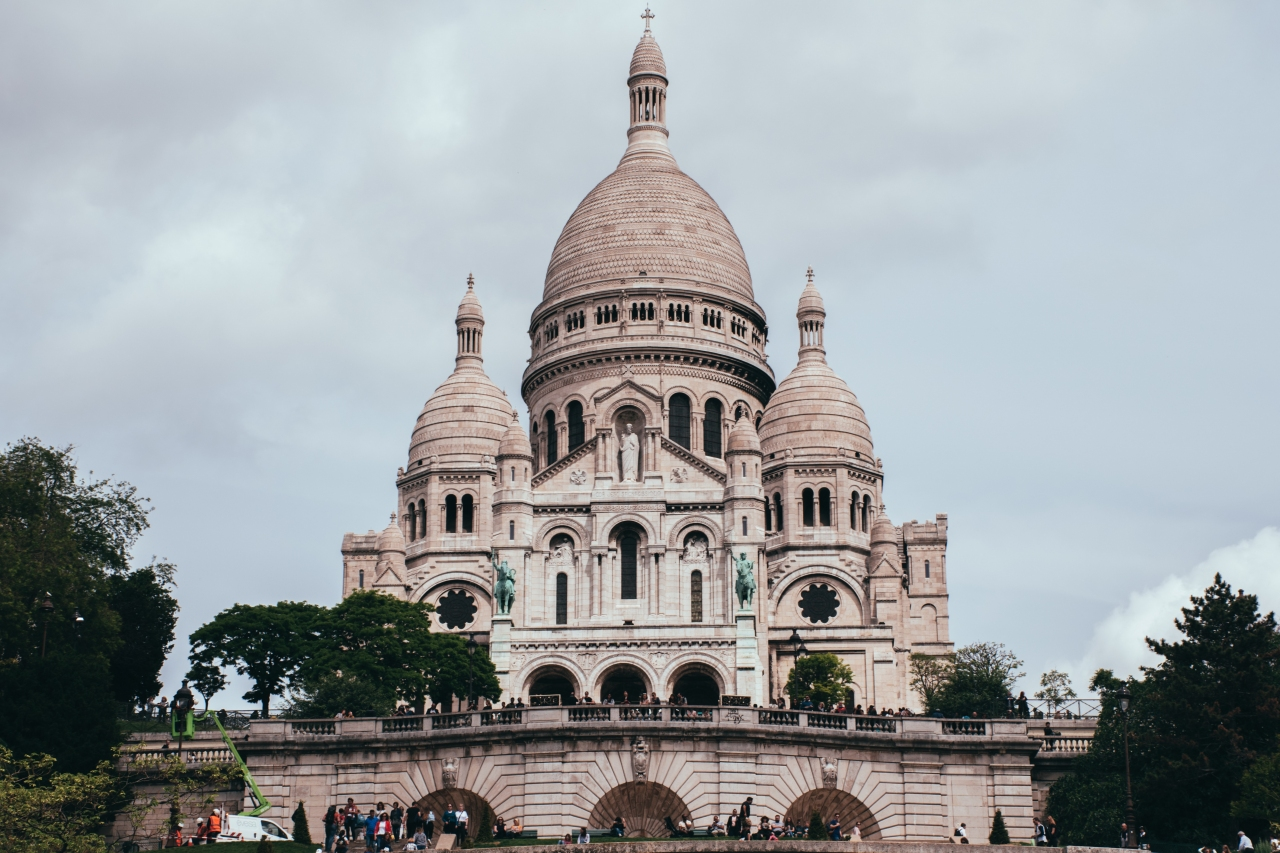 Basilique du Sacré-Coeur de Paris, un des incontournables de la ville.