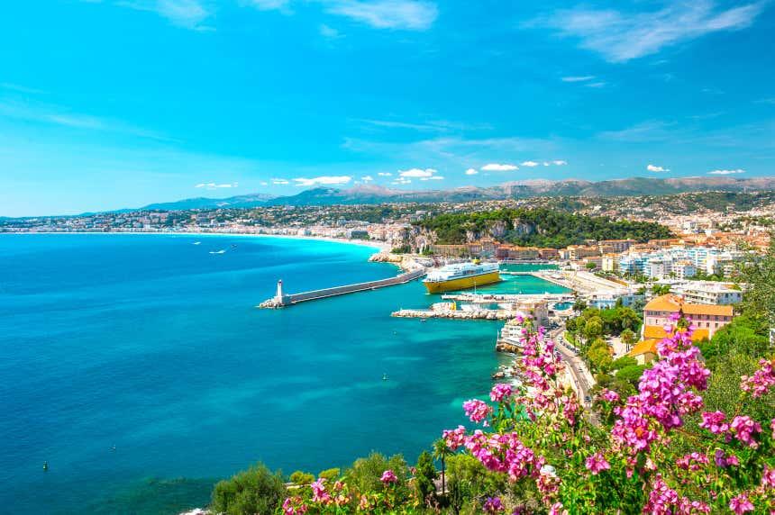 Costa de Niza, en Francia