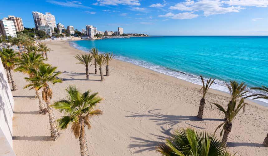 Playa alicantina de San Juan