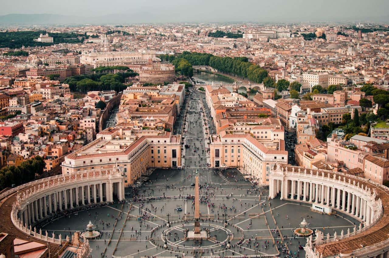 Visite guidée du Vatican, l'une des activités favorites des français