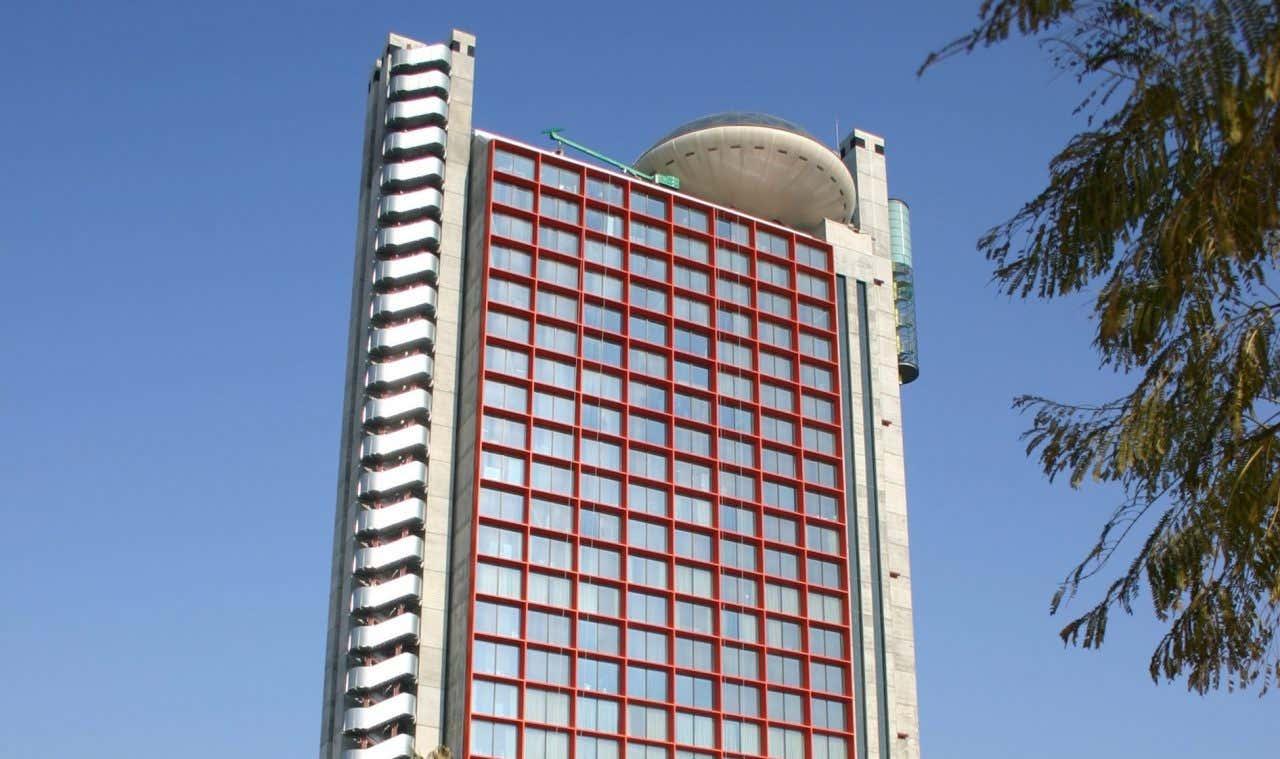 Vista del edificio Hesperia Tower en Hospitalet de Llobregat