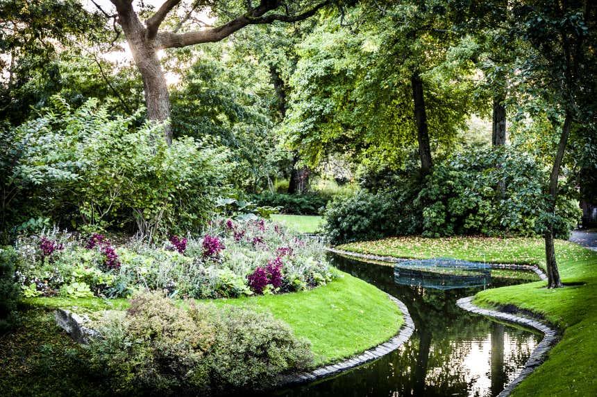 Jardin botanique de Nantes.