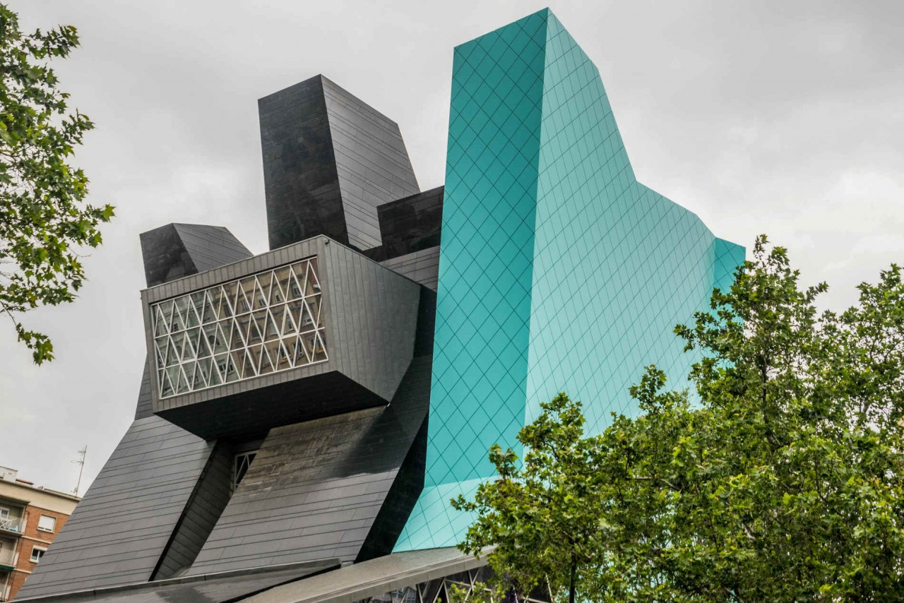 Museo Pablo Serrano, también conocido como el Instituto Aragonés de Arte y Cultura Contemporáneo