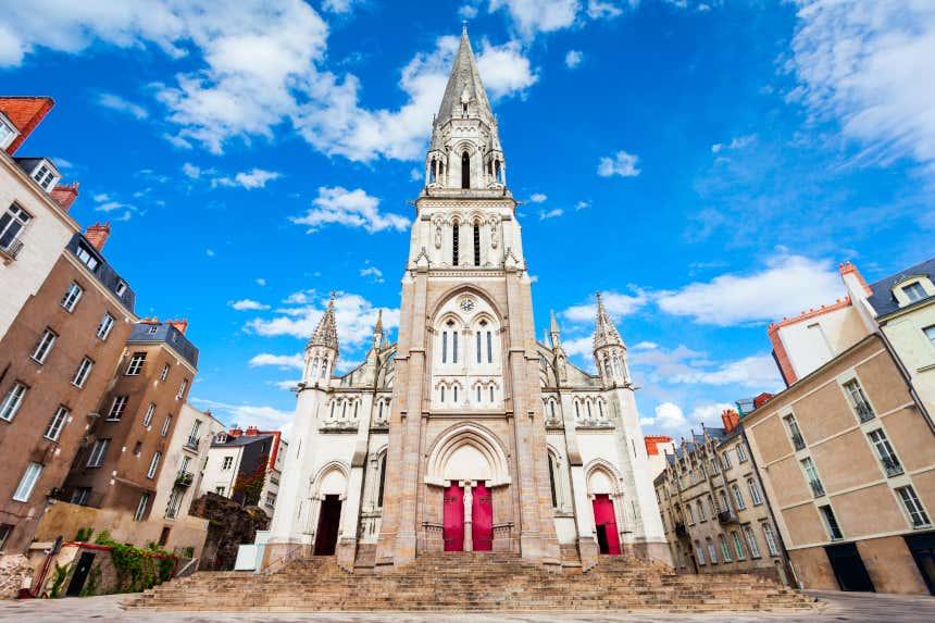 Iglesia de San Nicolás en Nantes.
