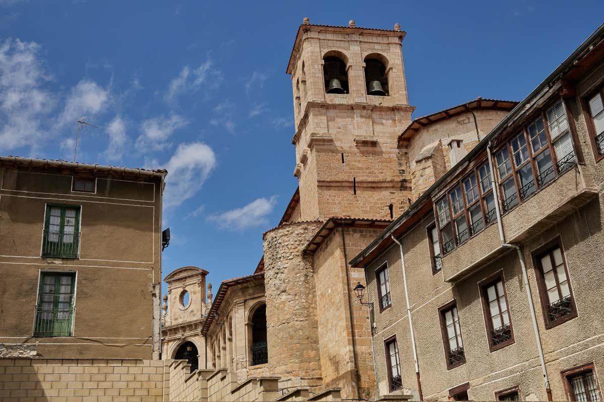 Casco viejo de Medina de Pomar, uno de los puntos clave de la ruta de Carlos V por España.
