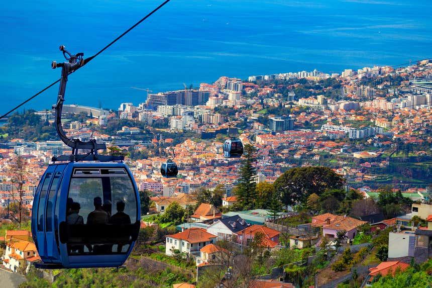 Cabines do Teleférico do Funchal