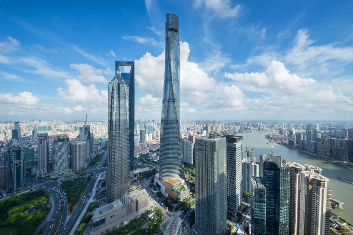 Panorámica de Shanghái y sus rascacielos