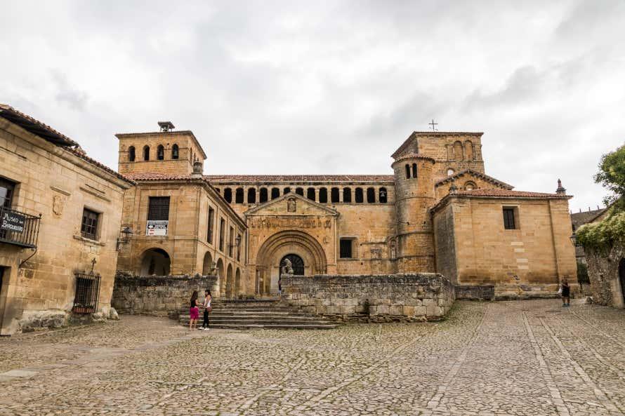 Colegiata de Santa Juliana, en Santillana del Mar