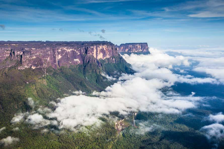Vista del Tepuy Roraima.